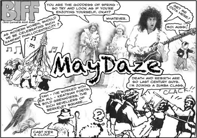 May Daze at Hornsey Town Hall